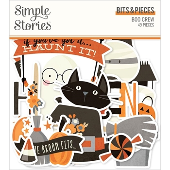 Simple Stories BOO CREW Bits And Pieces 13815