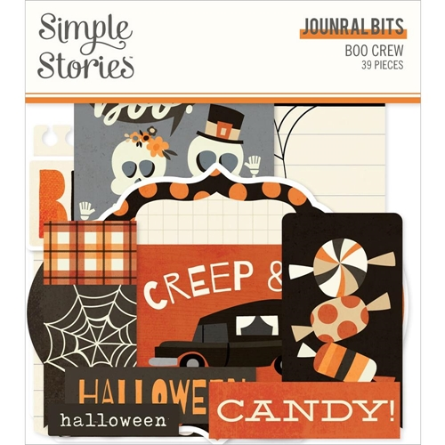 Simple Stories BOO CREW Journal Bits And Pieces 13816 Preview Image