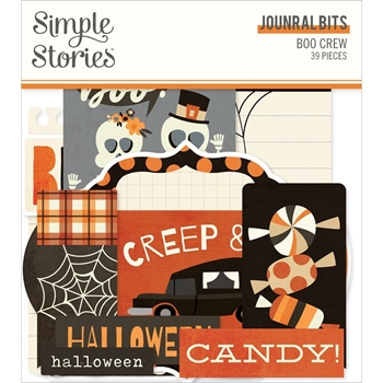 Simple Stories BOO CREW Journal Bits And Pieces 13816