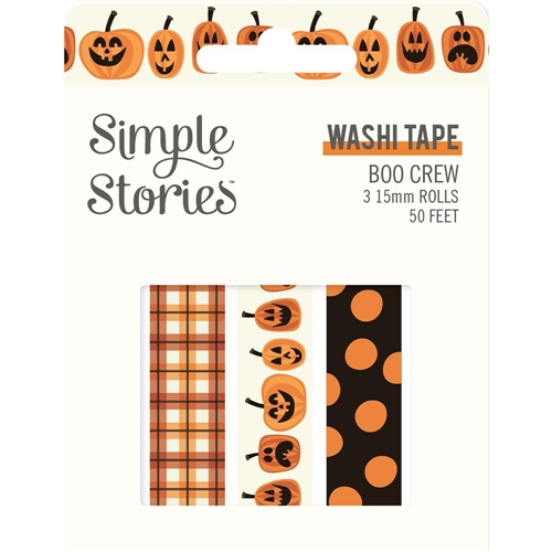 Simple Stories BOO CREW Washi Tape 13819 Preview Image