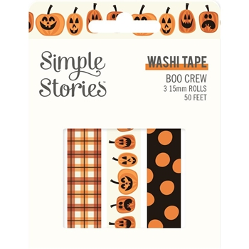 Simple Stories BOO CREW Washi Tape 13819