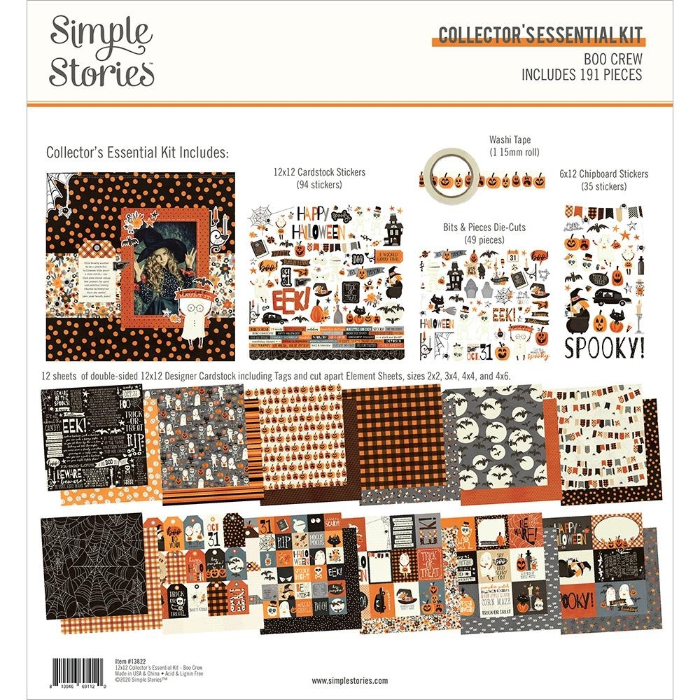 Simple Stories BOO CREW 12 x 12 Collector's Essential Kit 13822 zoom image