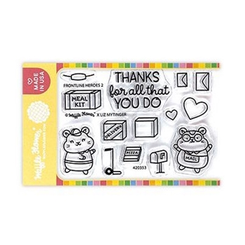 Waffle Flower FRONTLINE HEROES 2 Clear Stamps 420353