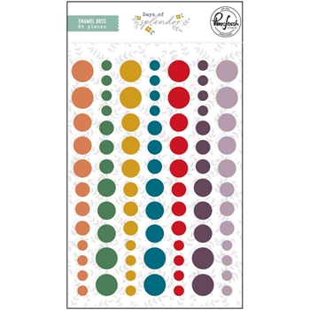 PinkFresh Studio DAYS OF SPLENDOR Enamel Dots pfrc601220