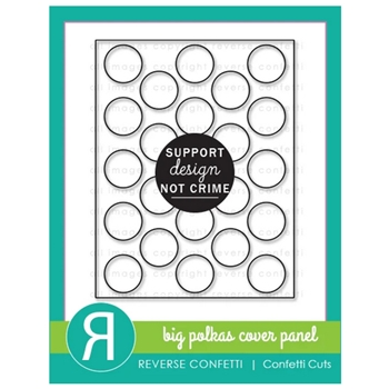 Reverse Confetti Cuts BIG POLKAS Cover Panel Die