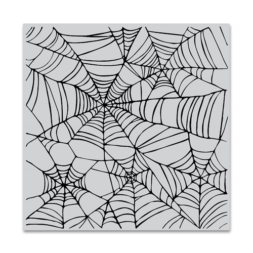 Hero Arts Cling Stamp SPIDER WEB BOLD PRINTS CG822 Preview Image