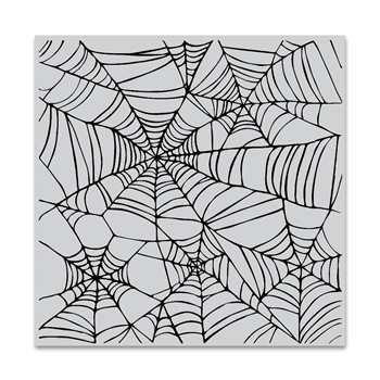 Hero Arts Cling Stamp SPIDER WEB BOLD PRINTS CG822