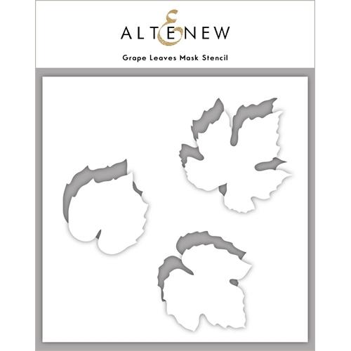 Altenew GRAPE LEAVES Mask Stencil ALT4433 Preview Image