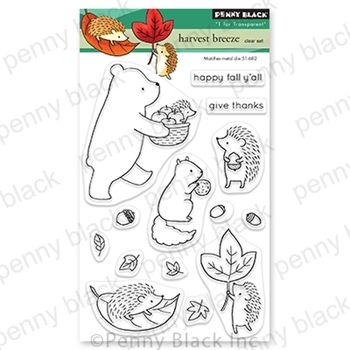 Penny Black Clear Stamps HARVEST BREEZE 30-722