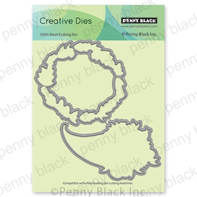 Penny Black HARVEST WISHES CUT OUT Thin Metal Creative Die 51-681 zoom image
