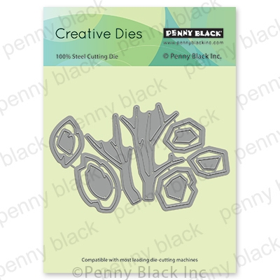 Penny Black WINDY Thin Metal Creative Die 51-675 Preview Image