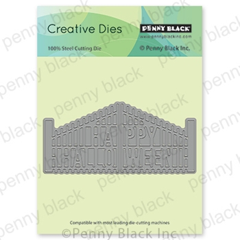 Penny Black HALLOWEEN GATE Thin Metal Creative Die 51-656