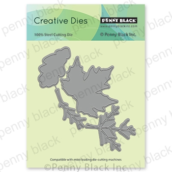 Penny Black FALL FOLIAGE Thin Metal Creative Die 51-655