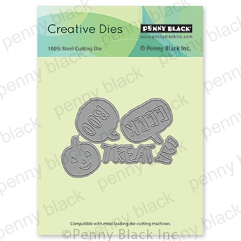 Penny Black CARVED CUTIES Thin Metal Creative Die 51-654