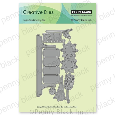 Penny Black AUTUMN DECOR Thin Metal Creative Die 51-653 Preview Image