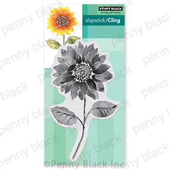 Penny Black Cling Stamp RISE AND SHINE 40-749