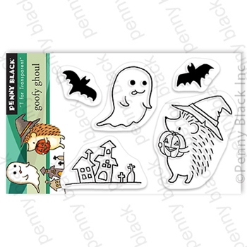 Penny Black Clear Stamps GOOFY GHOUL 30-725