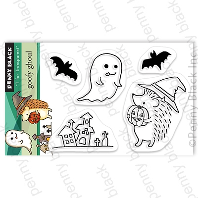 Penny Black Clear Stamps GOOFY GHOUL 30-725 zoom image