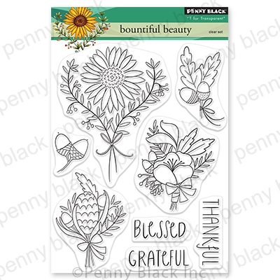 Penny Black Clear Stamps BOUNTIFUL BEAUTY 30-719 zoom image