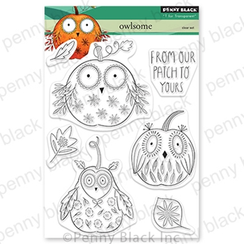 Penny Black Clear Stamps OWLSOME 30-718