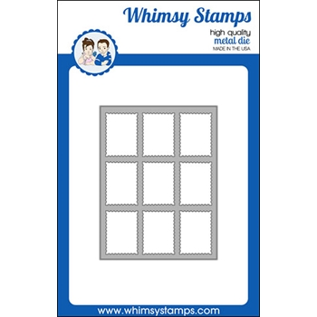 Whimsy Stamps POSTAGE WINDOW Dies WSD489