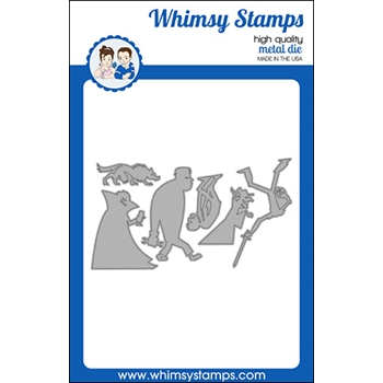 Whimsy Stamps MONSTER PARADE Dies WSD488