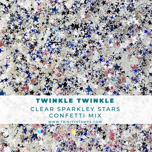 Trinity Stamps Twinkle Twinkle Star Confetti