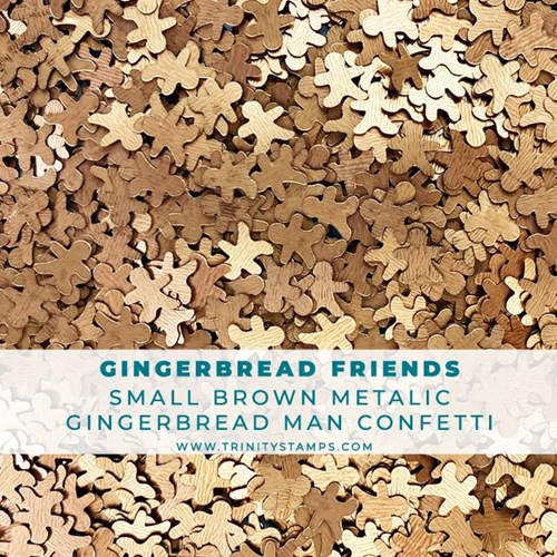 Trinity Stamps GINGERBREAD FRIENDS Embellishment Box tsb069 Preview Image