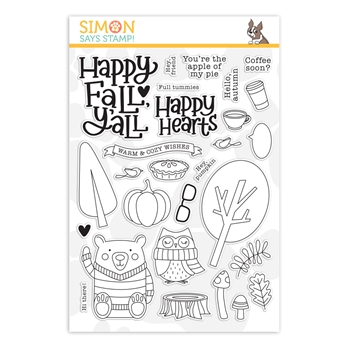 Simon Says Clear Stamps HAPPY FALL Y'ALL sss202090c