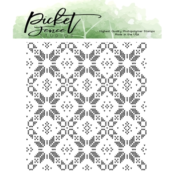 Picket Fence Studios SWEATER PATTERN MAKER Clear Stamp bb148