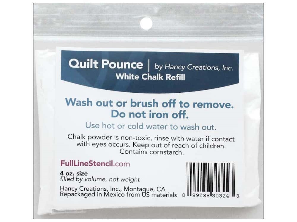 Hancy QUILT POUNCE WHITE CHALK REFILL 303243 zoom image