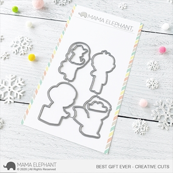 Mama Elephant BEST GIFT EVER Creative Cuts Steel Dies