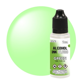 Couture Creations FLURO GREEN Alcohol Ink Fluorescent co727958