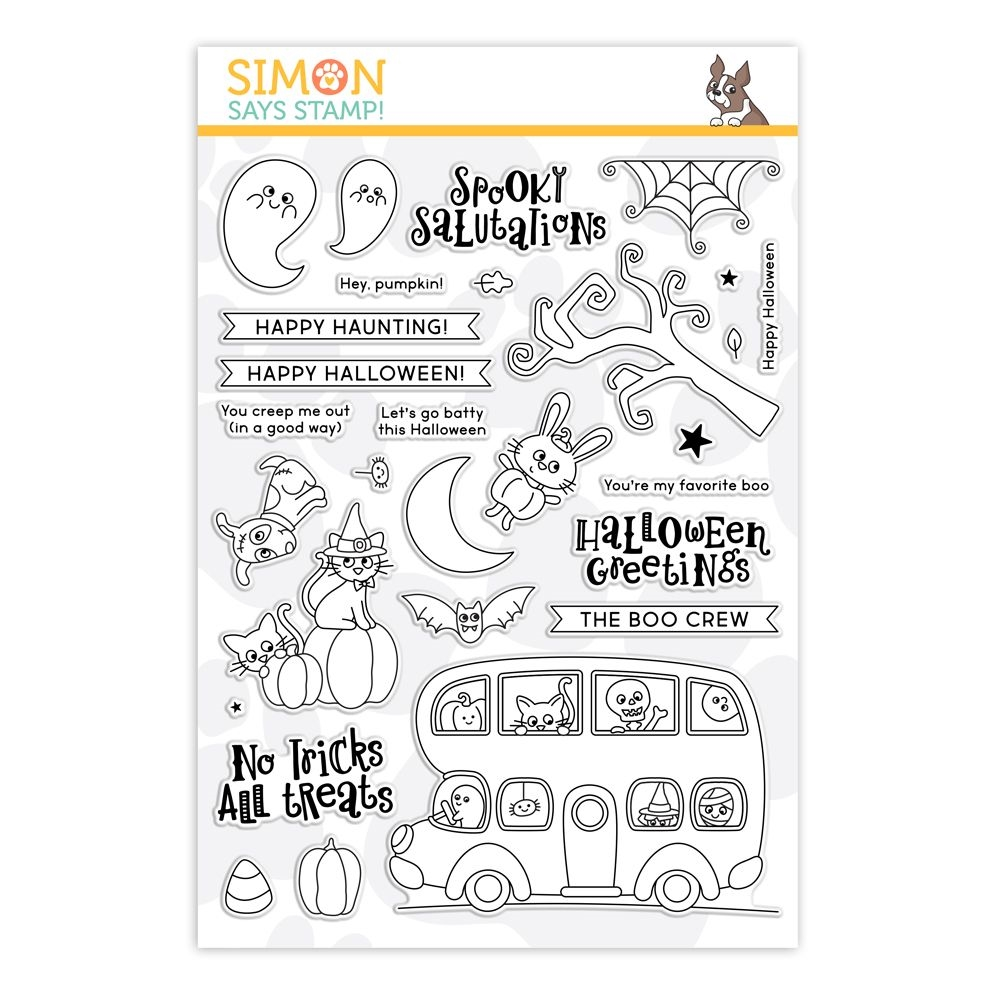 Simon Says Clear Stamps HAPPY HAUNTING sss202244 zoom image