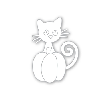 Simon Says Stamp PURRFECT PUMPKIN Wafer Die sssd112287