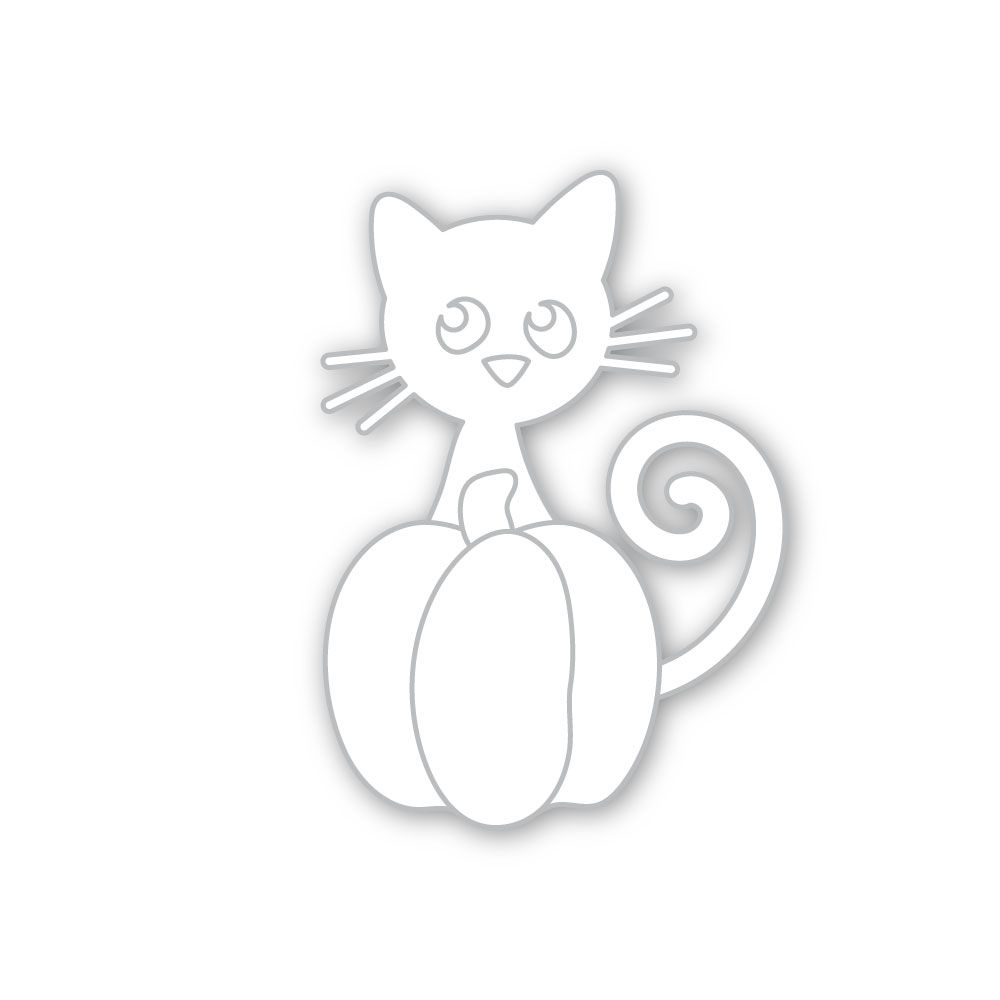 Simon Says Stamp PURRFECT PUMPKIN Wafer Die sssd112287 zoom image