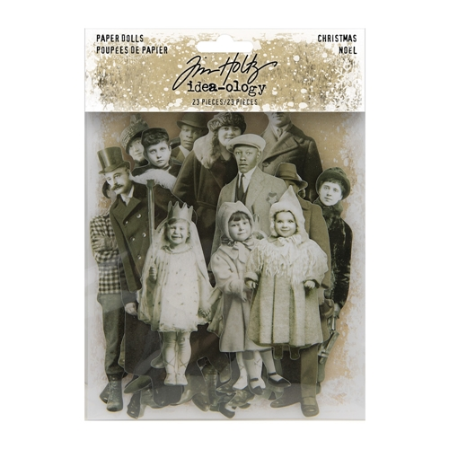 Tim Holtz Idea-ology CHRISTMAS PAPER DOLLS th94090 Preview Image