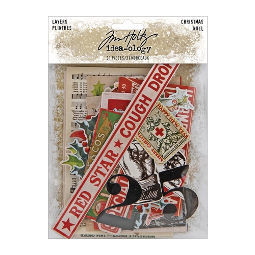Tim Holtz Idea-ology CHRISTMAS LAYERS th94092 Preview Image