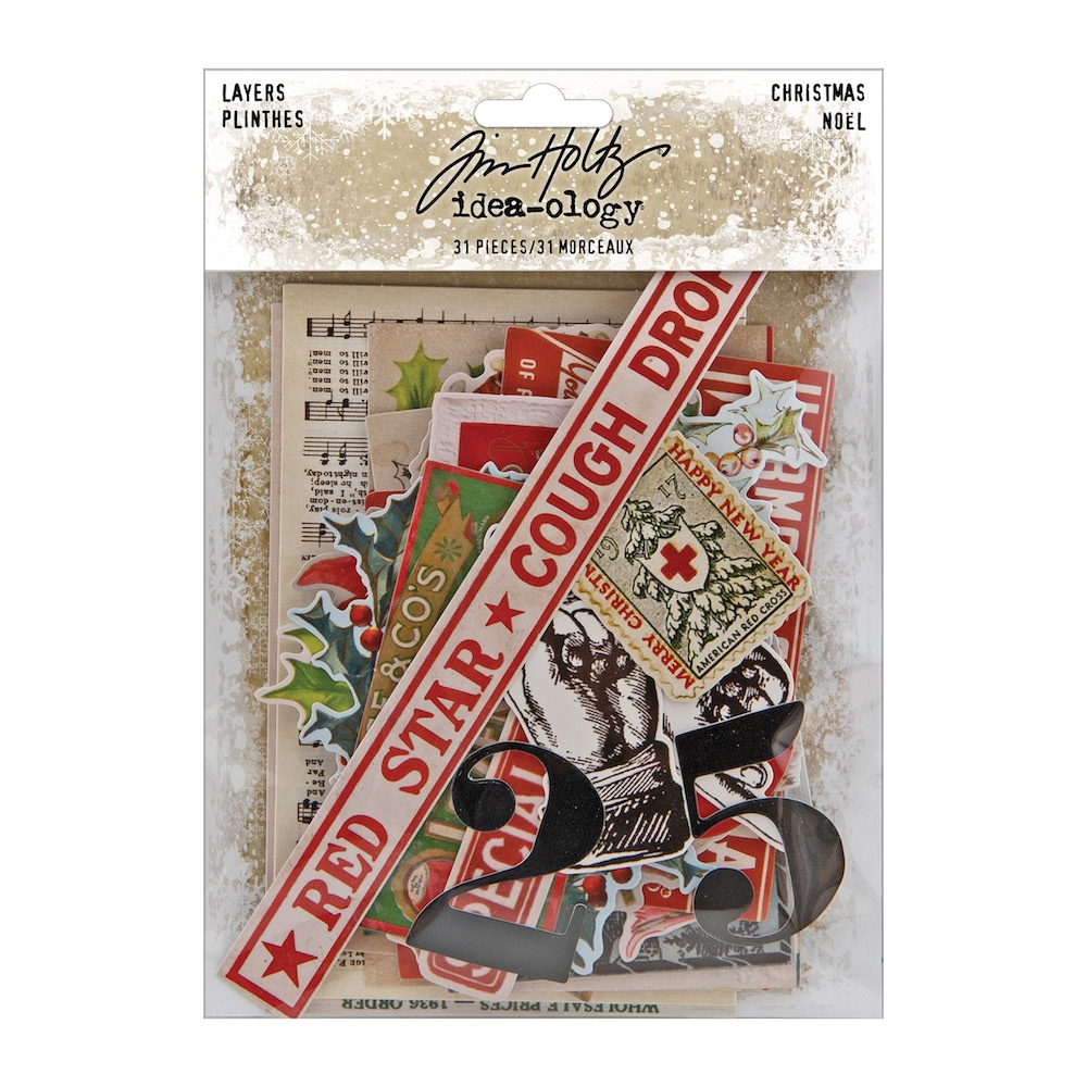 Tim Holtz Idea-ology CHRISTMAS LAYERS th94092 zoom image