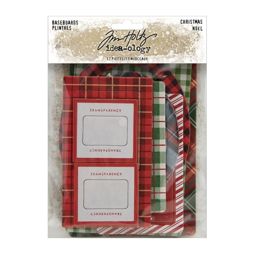 Tim Holtz Idea-ology BASEBOARDS CHRISTMAS th94093 Preview Image