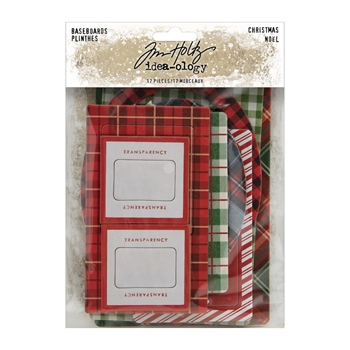 Tim Holtz Idea-ology BASEBOARDS CHRISTMAS th94093