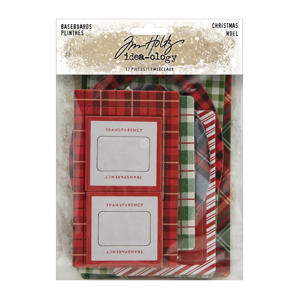 Tim Holtz Idea-ology BASEBOARDS CHRISTMAS th94093 zoom image