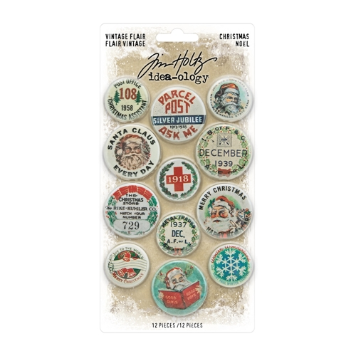 Tim Holtz Idea-ology CHRISTMAS FLAIR th94105* Preview Image