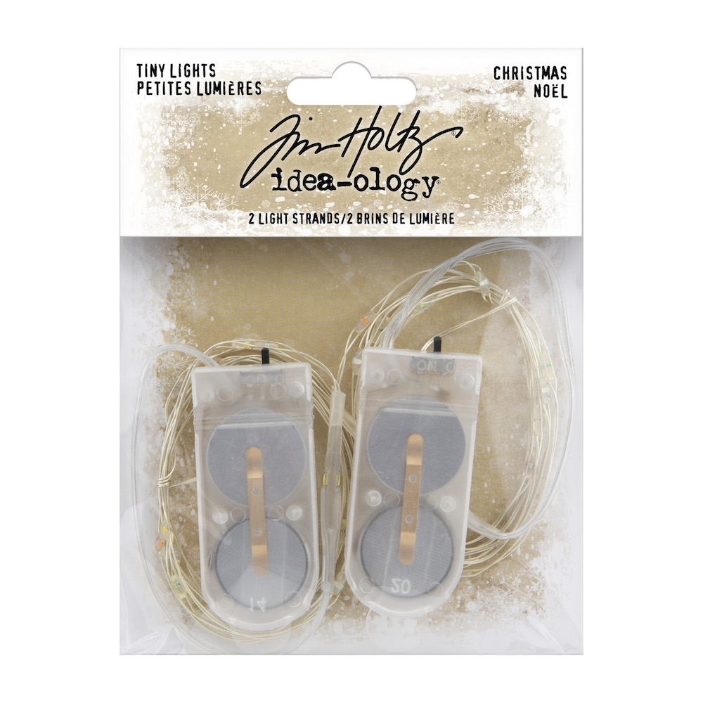 Tim Holtz Idea-ology TINY LIGHTS CHRISTMAS th94106 zoom image