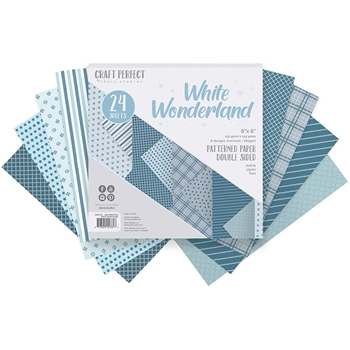 Tonic WHITE WONDERLAND 6 x 6 Paper Pack 9381e