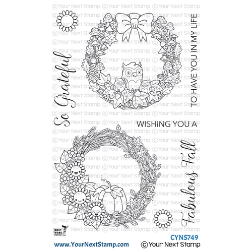 Your Next Stamp FABULOUS FALL WREATHS Clear cyns749 Preview Image