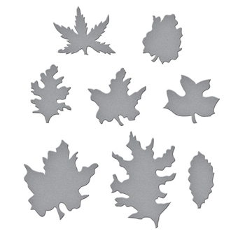 S4-1080 Spellbinders WOODLAND GARDEN LEAVES Etched Dies
