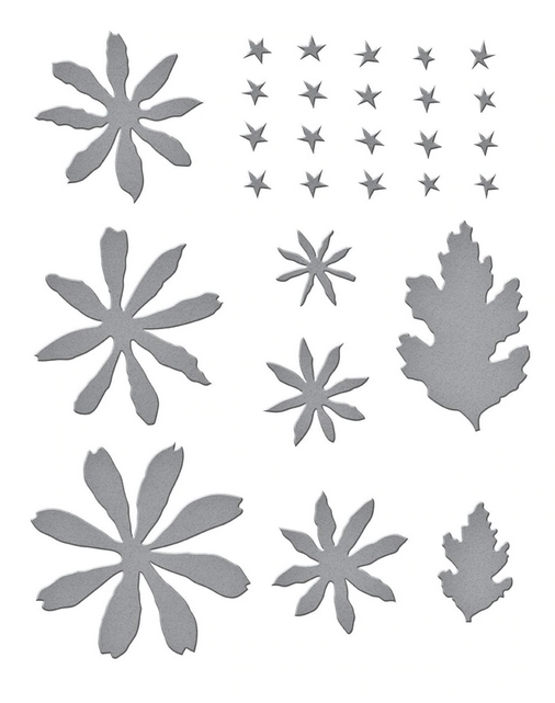 S4-1074 Spellbinders BUTTON AND DAISY CHRYSANTHEMUM Etched Dies zoom image