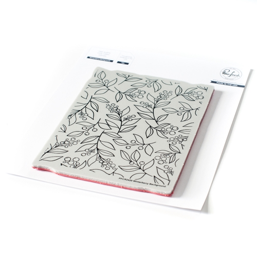 PinkFresh Studio WINTERBERRY BACKGROUND Cling Stamp pfcr2420 Preview Image