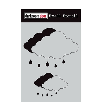 Darkroom Door CLOUD SET Small Stencil ddss041